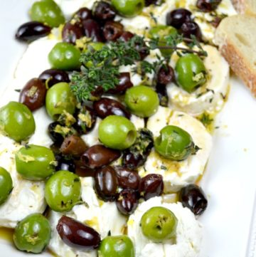 Goat Cheese-with-Olive-Lemon-and -Thyme