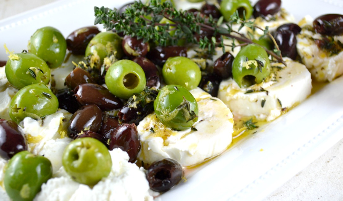 lemon goat cheese with olives lemon goat cheese with olives lemon goat ...