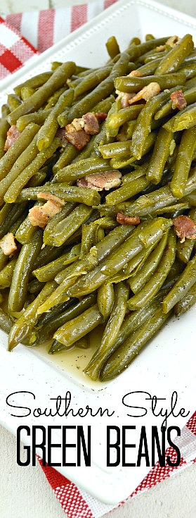 Southern Style Green BeansGonna Want Seconds