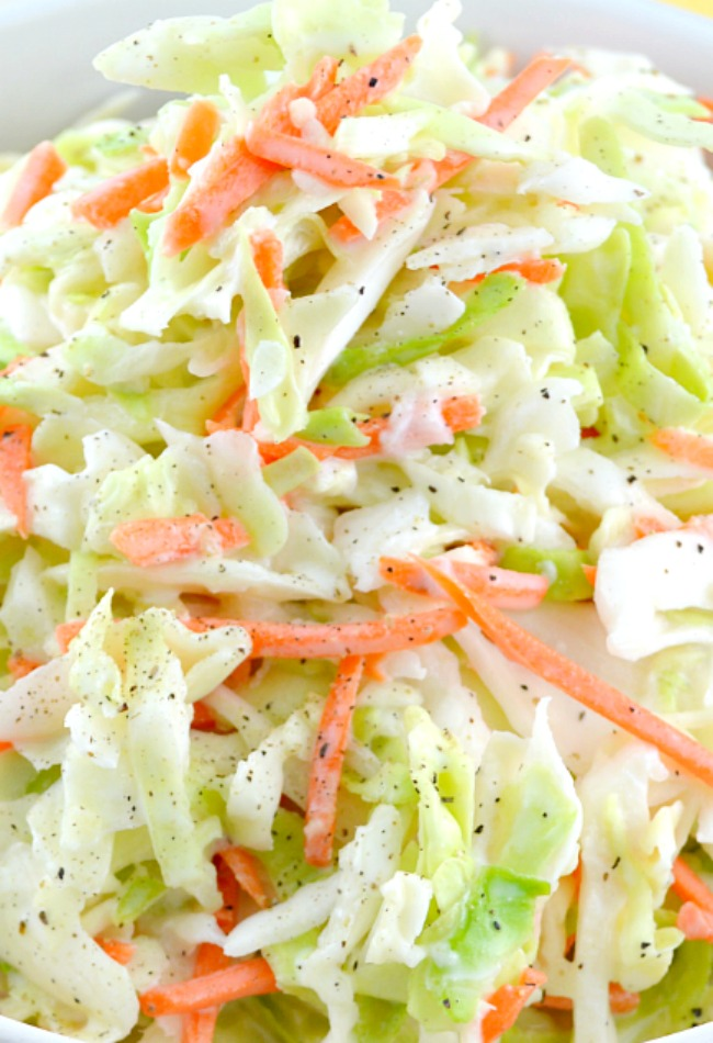 Quick and Easy KFC Coleslaw Recipe (With Video!) - Gonna