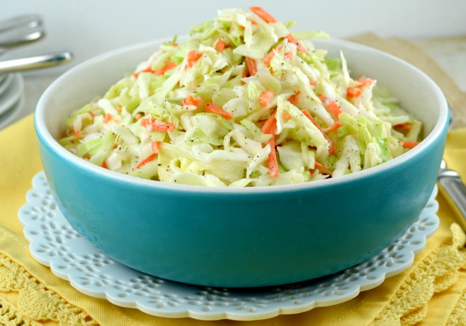 love coleslaw, I've got a recipe for you. This recipe for coleslaw ...