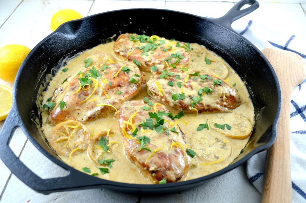 Garlic-Lemon Double Stuffed Chicken---by far my favorite recipe I've ...