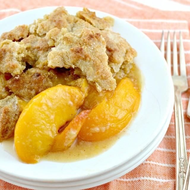 Southern Peach Cobbler!