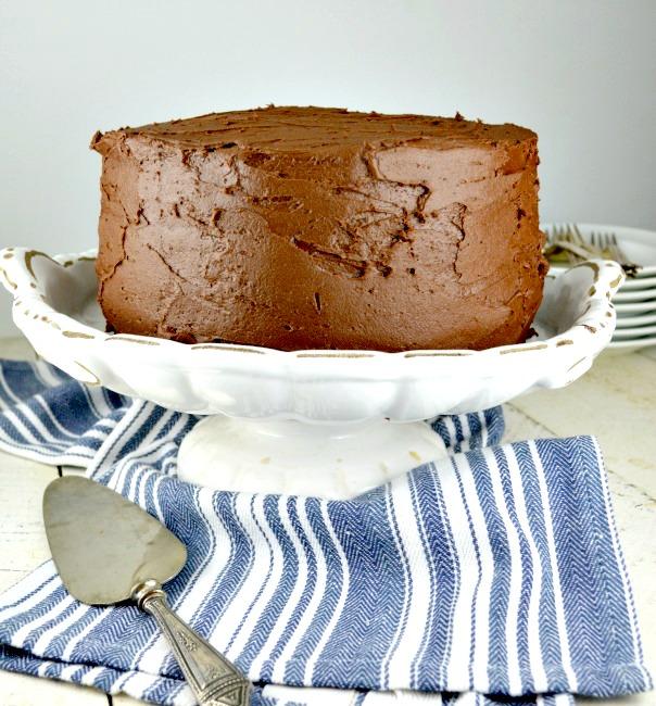 Triple-Layer-Chocolate-Cake