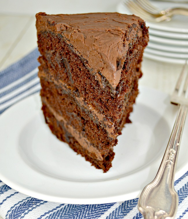 Triple-Layer-Chocolate-Cake