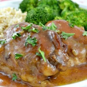 Brown Sugar Crock Pot Chicken