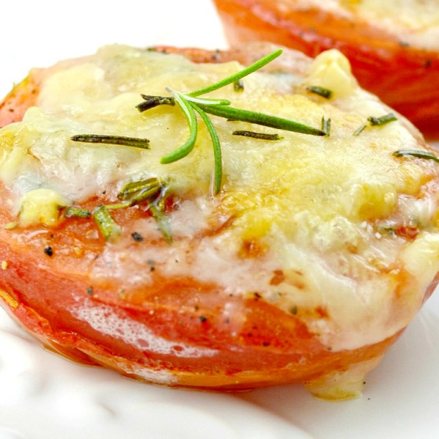 Cheesy-Baked-Tomatoes