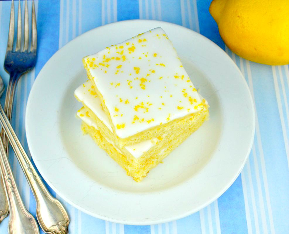 Lemon-Brownies