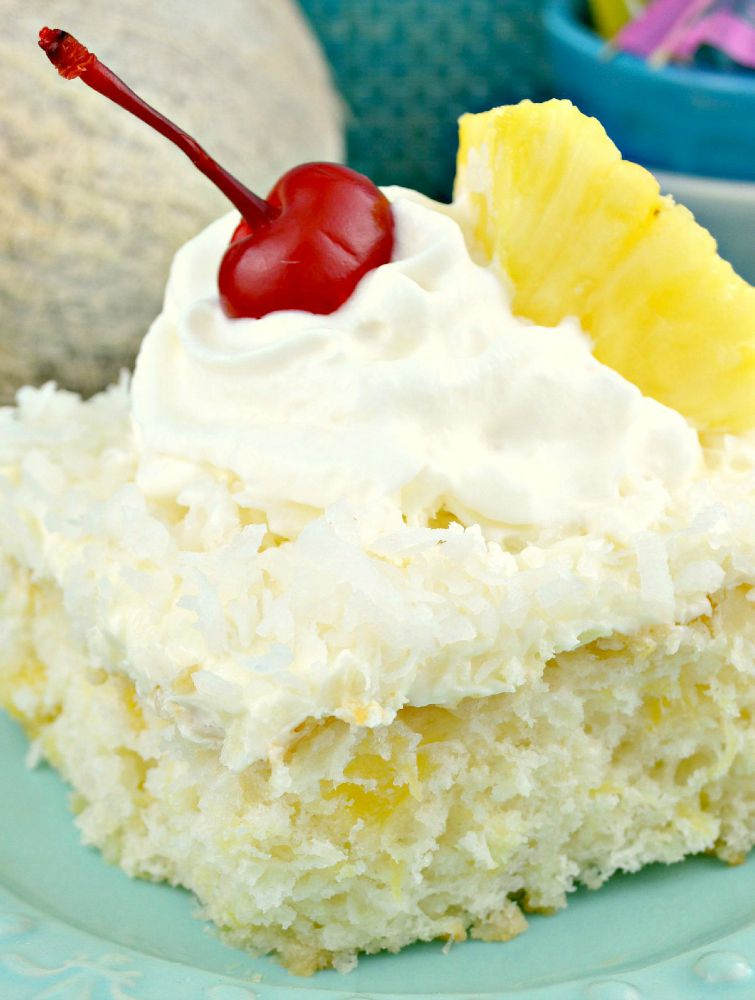 Coconut Sheet Cake With Cake Mix