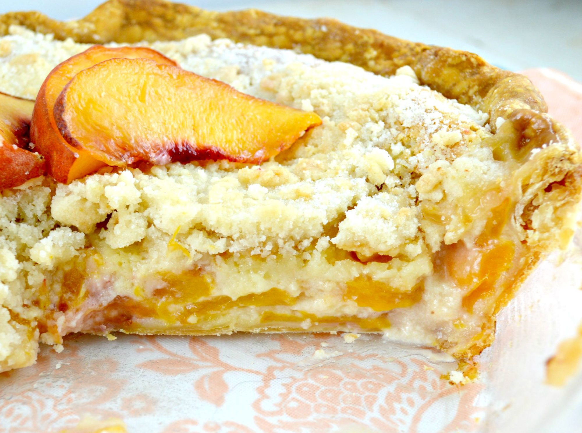 Peaches and Cream Pie 222