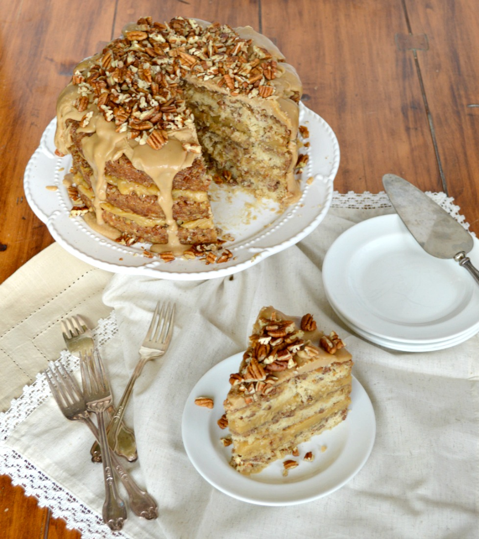 pecan pie cake pecan pie cake gonna want seconds 6431