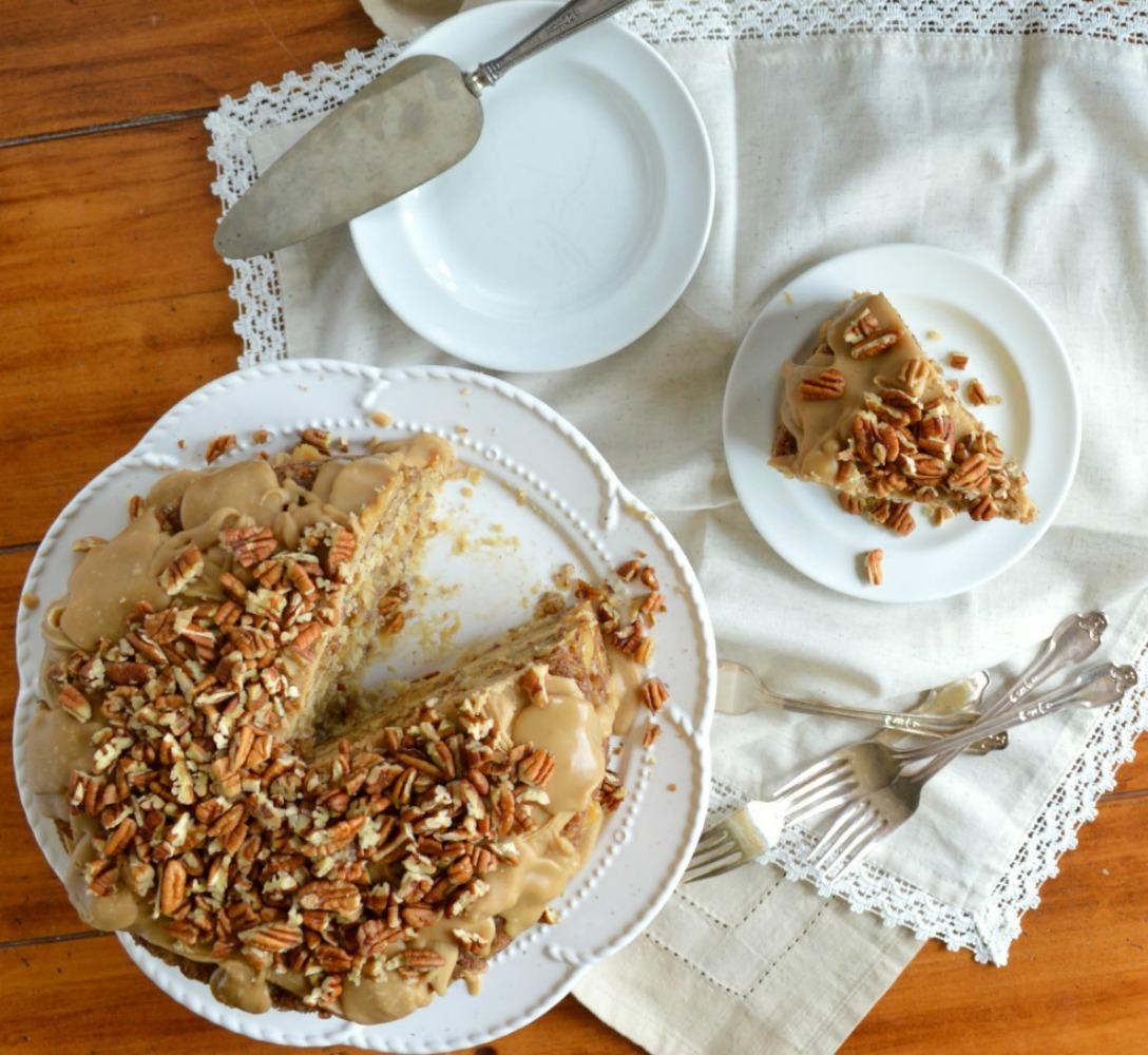 Pecan Pie Cake