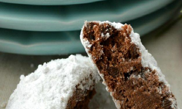 Double Chocolate Snowballs