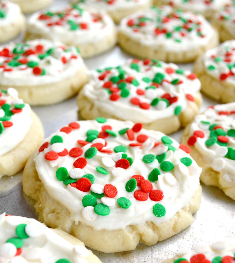 No Roll Sugar Cookies 11