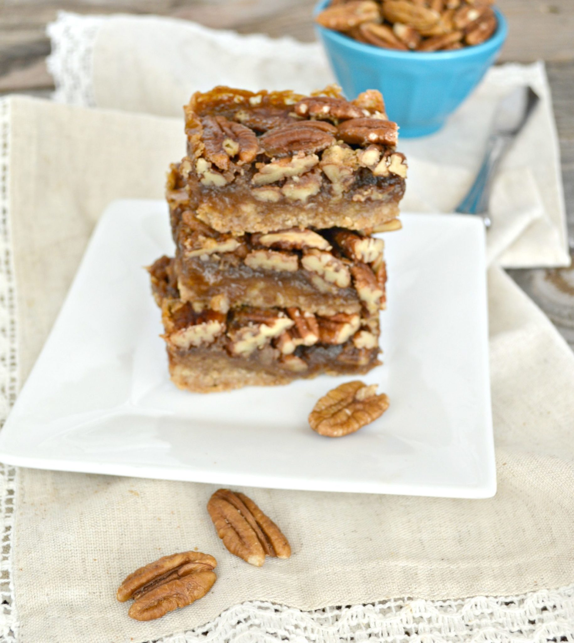 The Best Pecan Pie Bars - Gonna Want Seconds