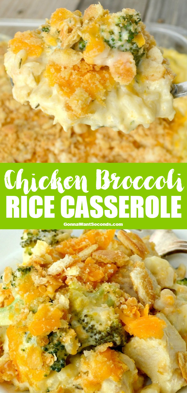 Chicken Broccoli Rice Casserole Easy Comfort Food Your Family Will Love