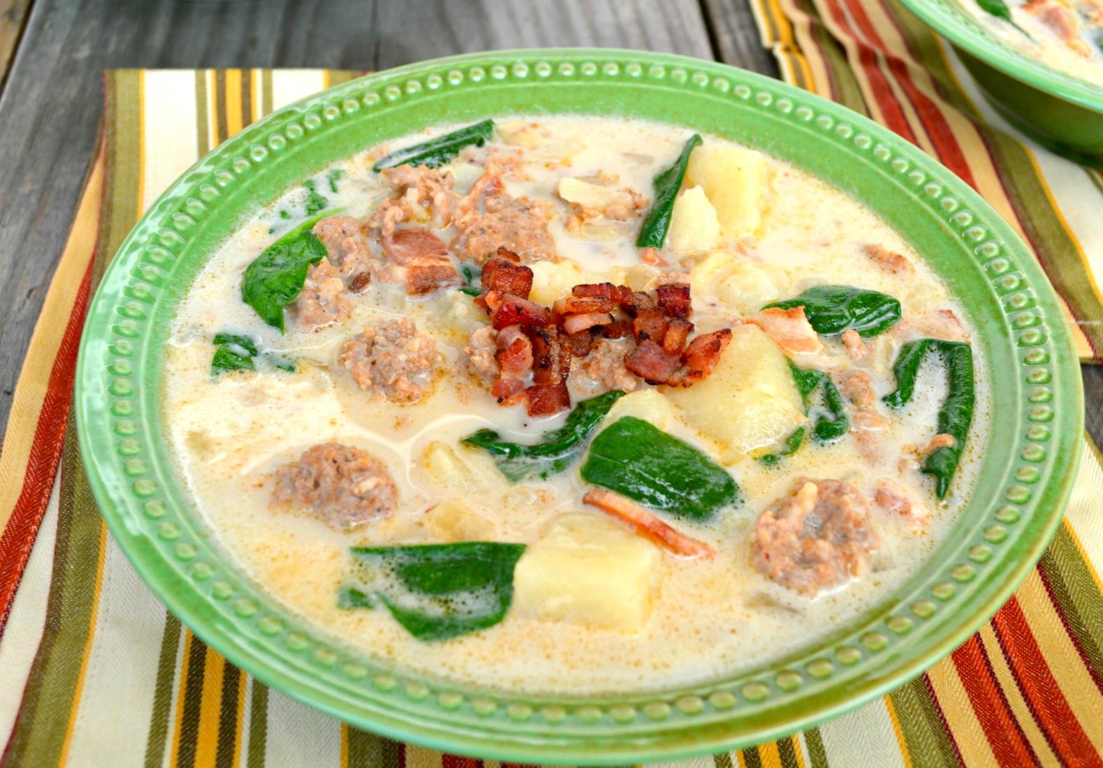This Zuppa Toscana Recipe takes only 30 minutes to make and is comfort food at its finest.