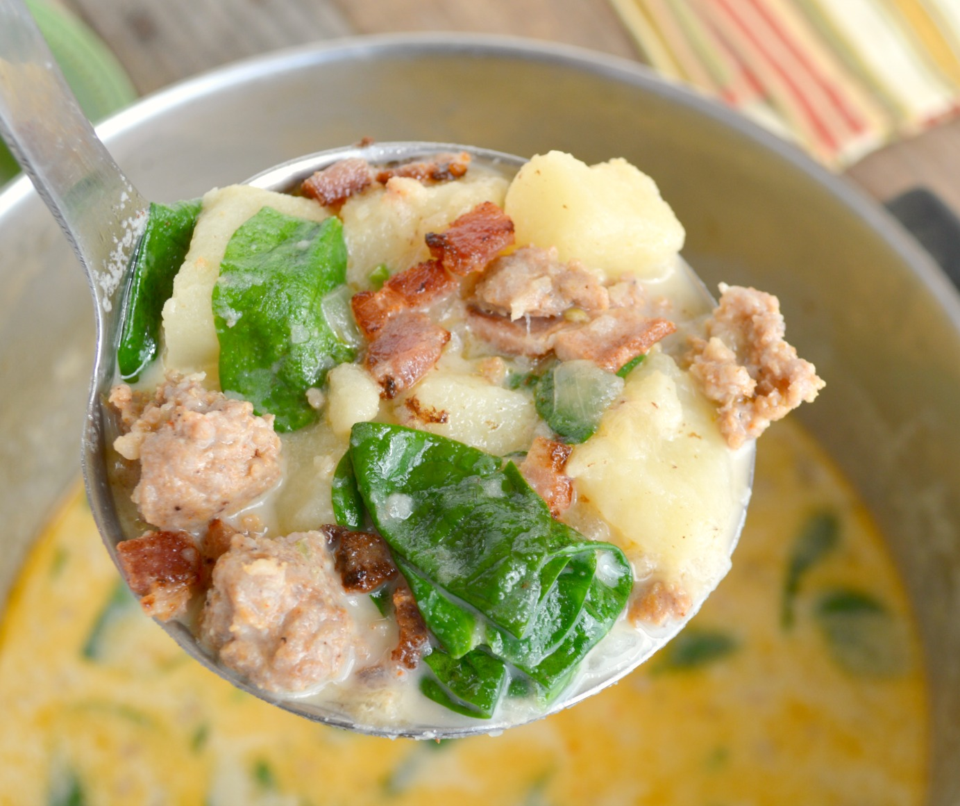 This Zuppa Toscana recipe has even more of the good stuff than the original.