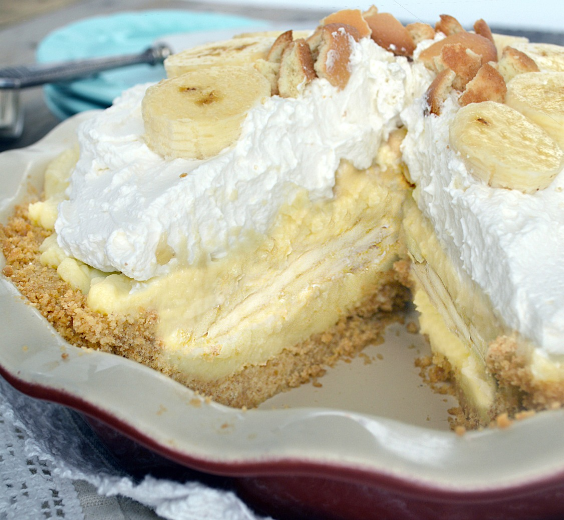 Banana Coconut Pudding Cake