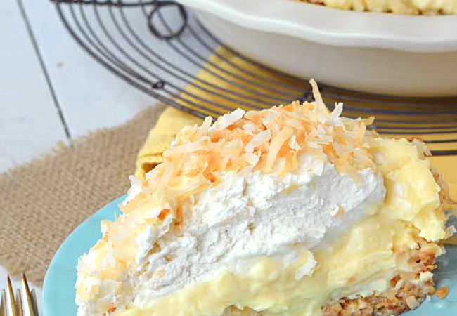 Coconut Banana Pie
