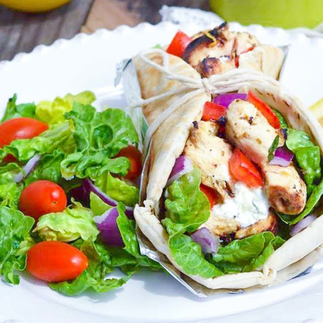 Chicken Gyro -An Authentic Mediterranean Treat!