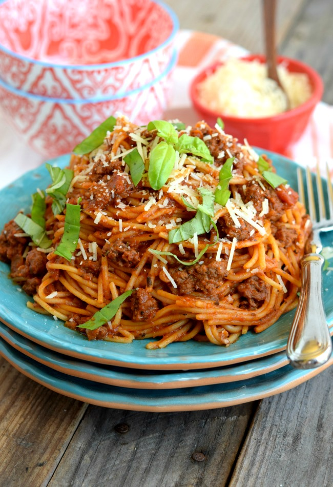 Crock Pot Spaghetti 2-2