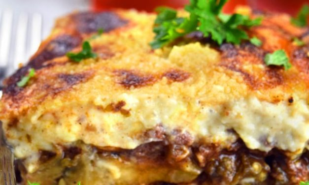 Greek Moussaka Recipe