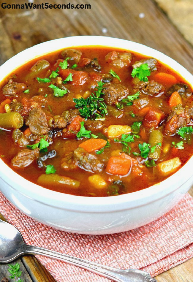 Is There Anything As Classic As Heartwarmingly Nostalgic As Vegetable Beef Soup