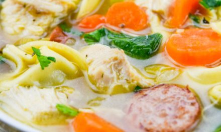 Chicken Tortellini Soup