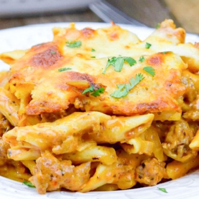 Baked Mostaccioli (With Video!)