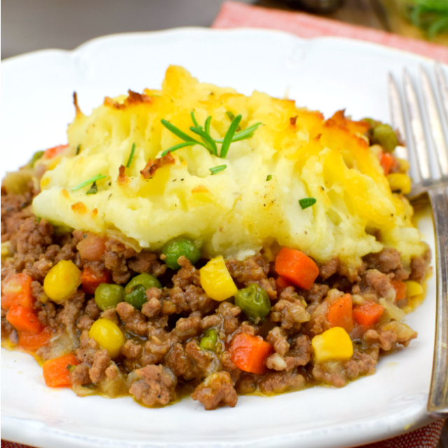 Alton Brown Shepherd's Pie
