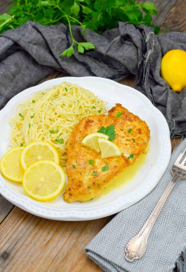 Chicken Francaise A Deliciousone Skillet Italian Chicken Dish