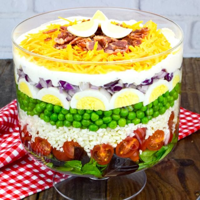 7 Layer Salad Recipe (With Video!)