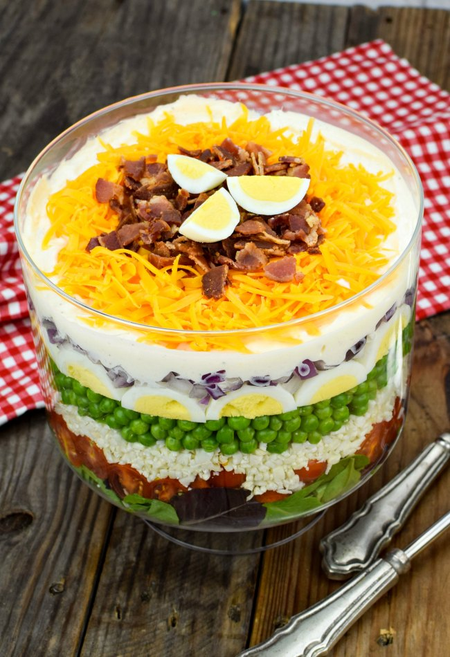 7 Layer Salad Recipe Make Ahead Classic Favorite