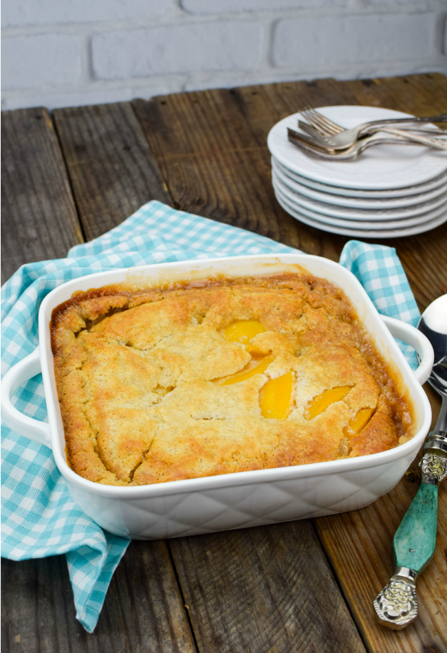 Bisquick Peach Cobbler Recipe - Gonna Want Seconds