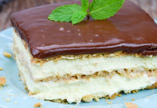 Eclaire Cake