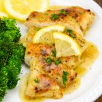 Lemon Pepper Chicken with Lemon Pan Sauce