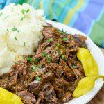 Easy Crock Pot Mississippi Pot Roast