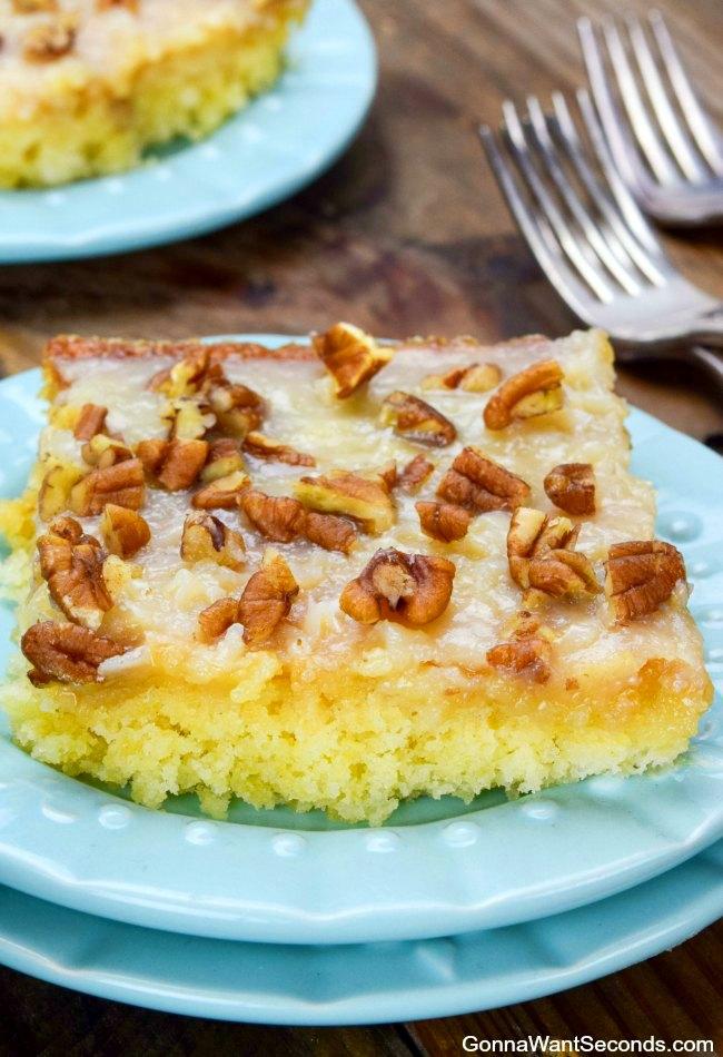 Sheet cake recipe video
