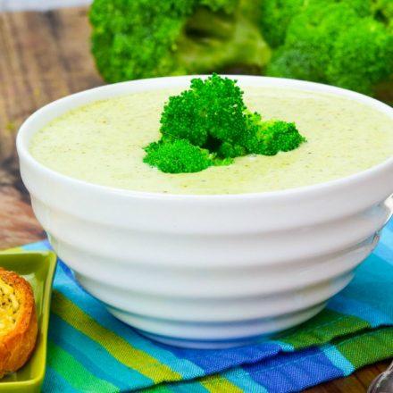 Easy Cream Of Broccoli Soup Recipe