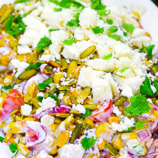 Authentic Mexican Corn Salad - Gonna Want Seconds