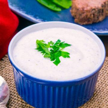 Easy Creamy Horseradish Sauce Recipe