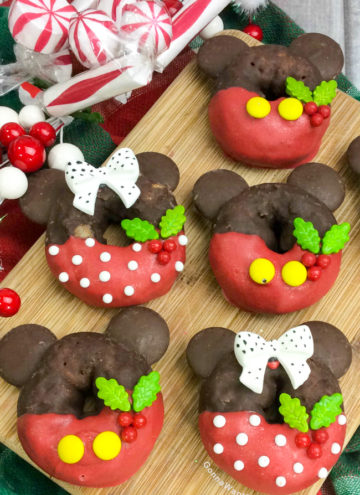 Mickey and Minnie Doughnuts