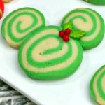 Mickey and Minnie Swirl Cookies
