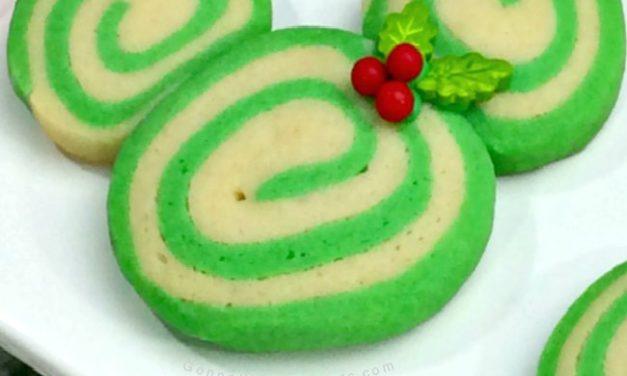 Mickey and Minnie Swirl Cookies