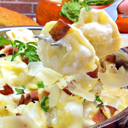Easy Tortellini Al Forno rich, delicious and cheesy. Better than the one from the restaurant!