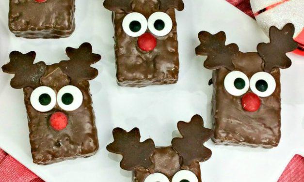 Reindeer Rice Krispies Treat