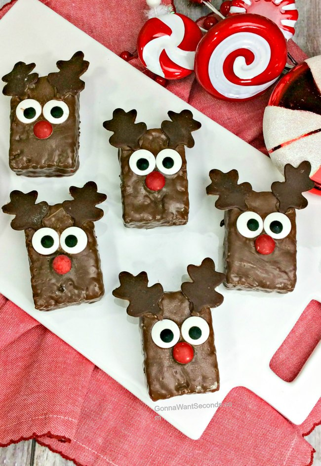 Reindeer Rice Krispies Treats