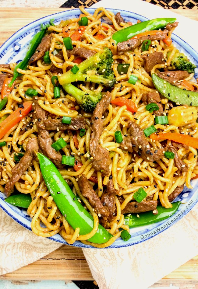 Beef Chow Mein Recipe