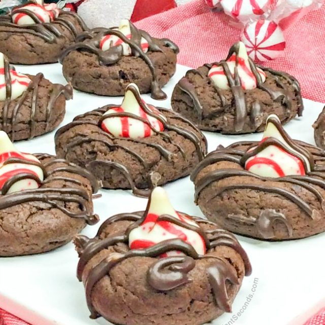 Godiva Peppermint Thumbprint Cookies
